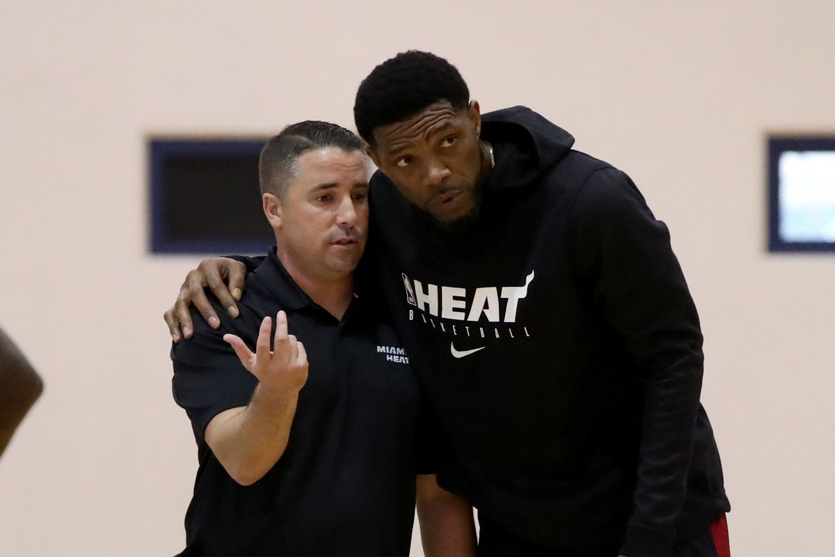 Dan Craig and Udonis Haslem