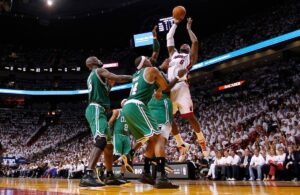 LeBron James Boston Celtics