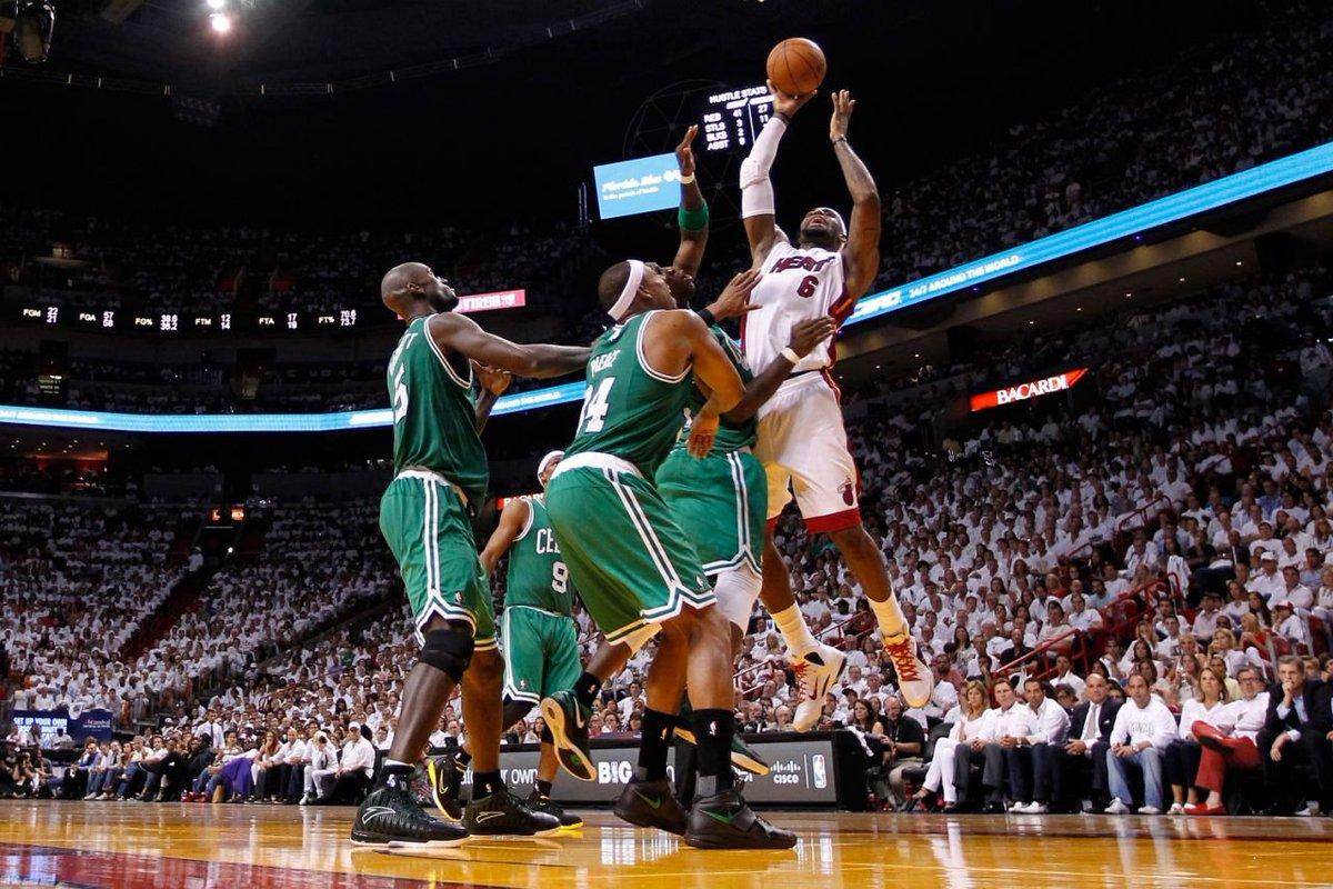 LeBron James Boston Celtics