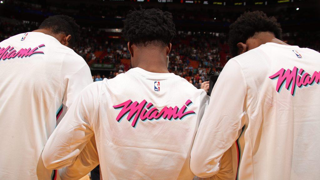 Miami Heat Warmups