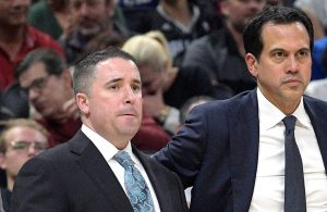 Dan Craig and Erik Spoelstra