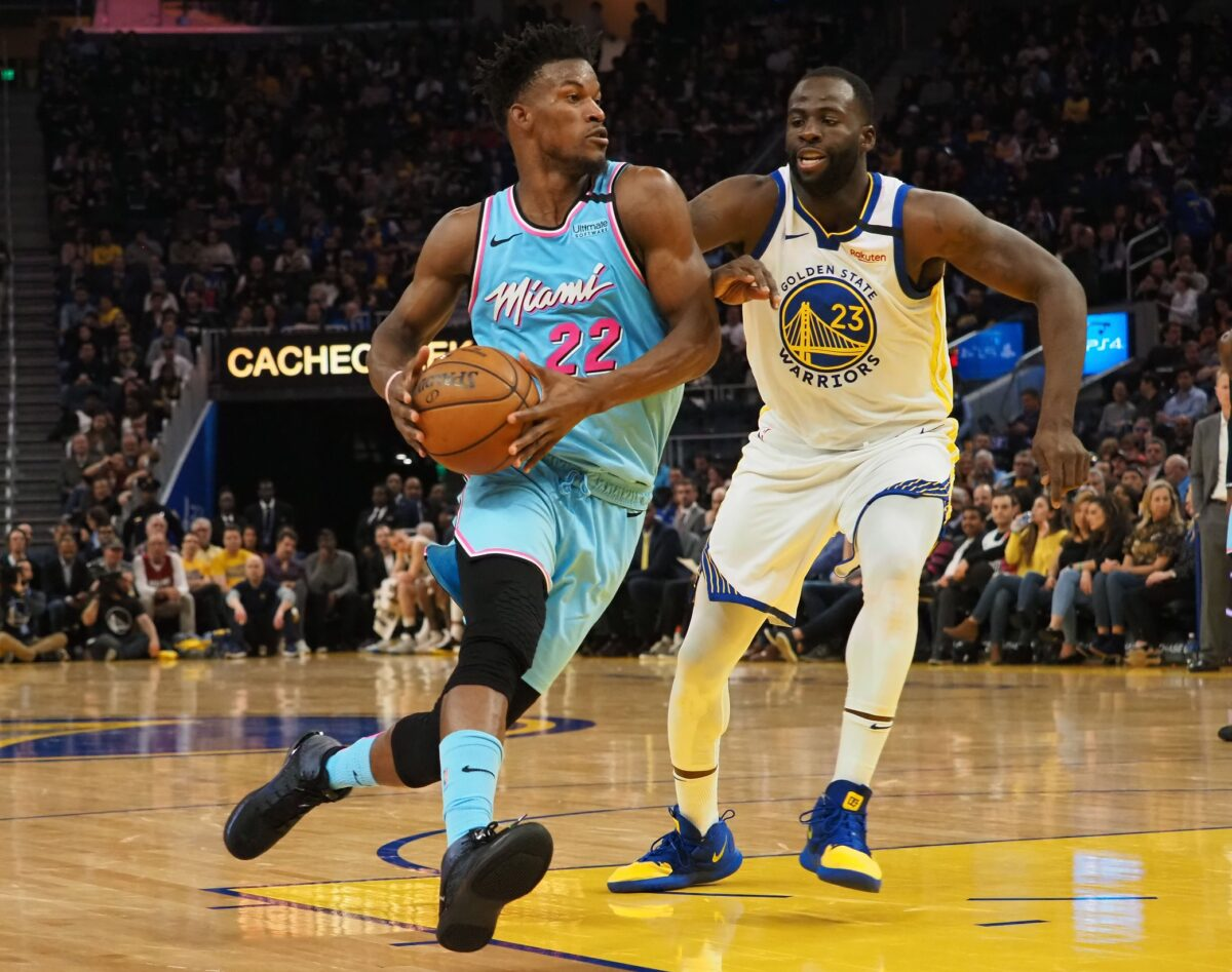 Draymond Green Latest Nba Star To Rave About Jimmy Butler S Style Of Leadership Heat Nation