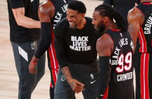 Udonis Haslem and Jae Crowder