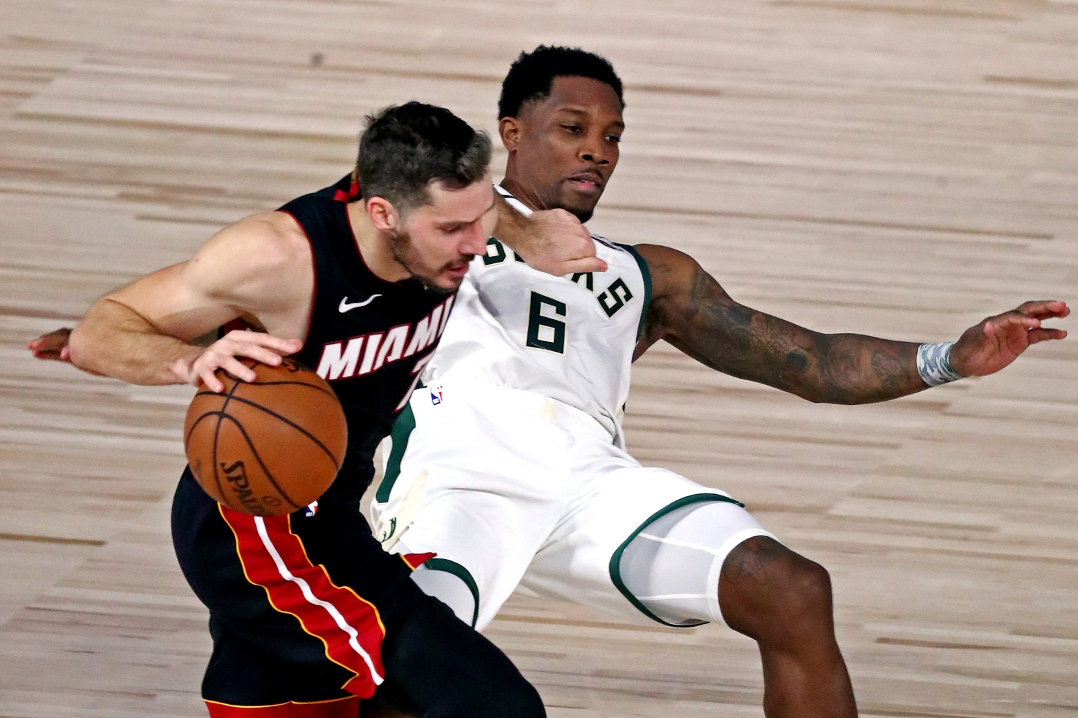 Goran Dragic and Eric Bledsoe