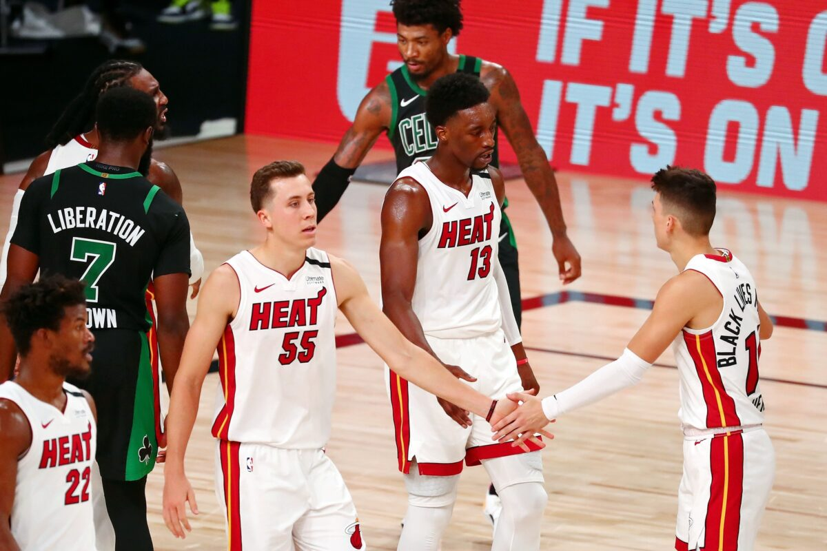 Duncan Robinson Heaps Massive Praise Upon Emergence Of Tyler Herro In Playoffs Heat Nation