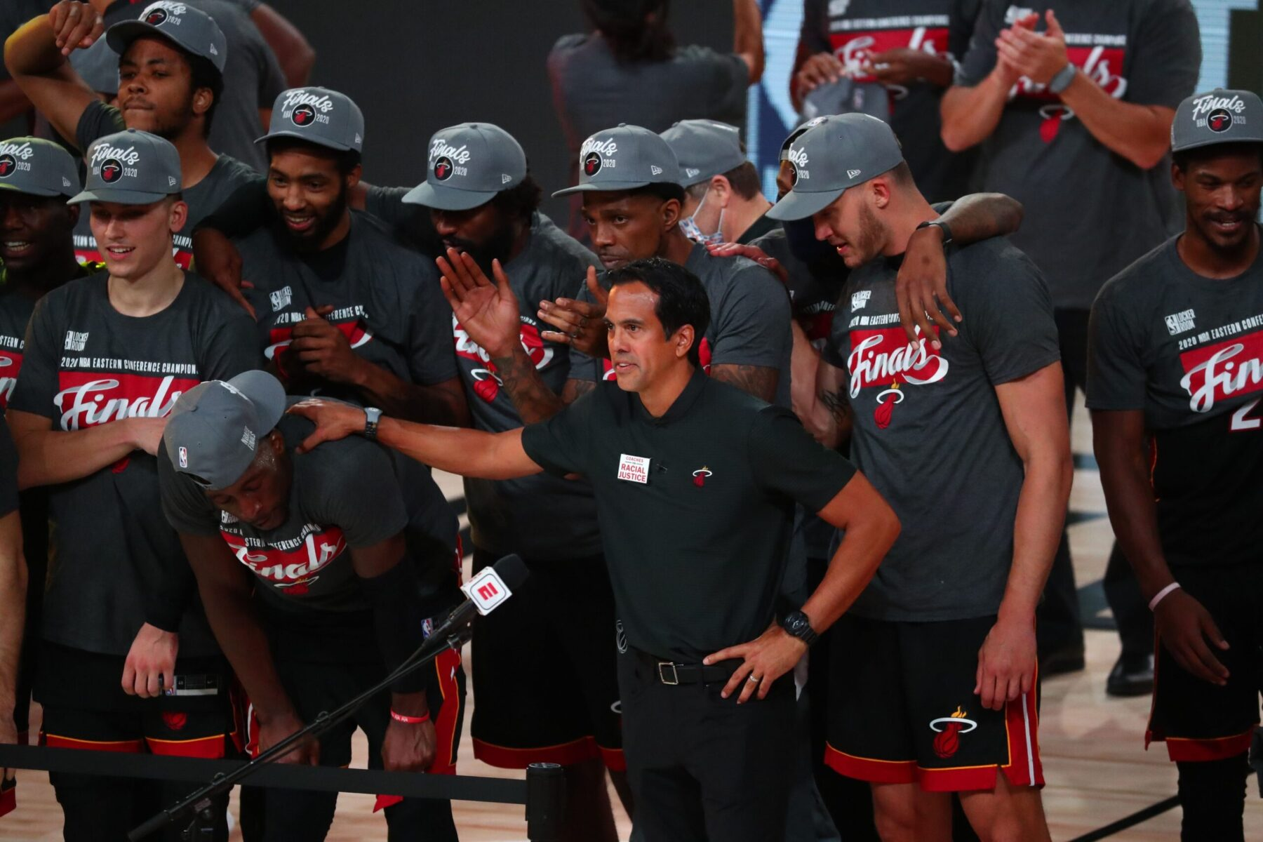 Report Miami Heat Requested Not To Have Confetti After Advancing To Nba Finals Heat Nation