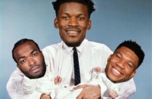 T.J. Warren, Jimmy Butler and Giannis Antetokounmpo