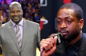 Shaquille O'Neal and Dwyane Wade