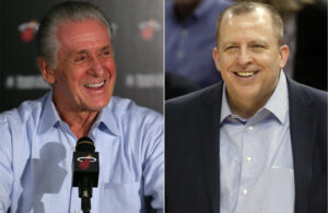 Pat Riley and Tom Thibodeau