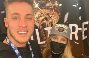 Meyers Leonard and Elle Leonard