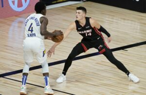 Tyler Herro and Victor Oladipo