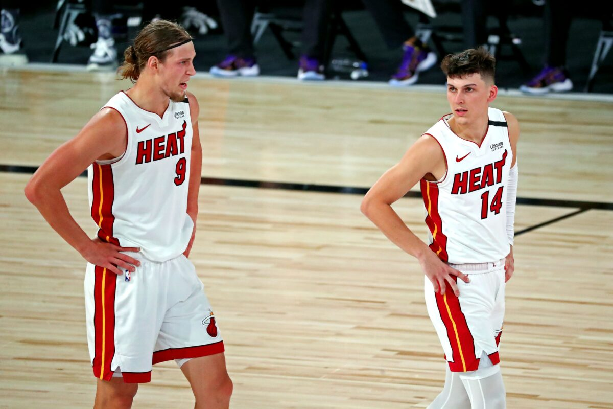 Kelly Olynyk and Tyler Herro