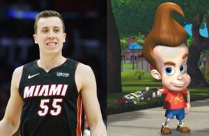 Duncan Robinson and Jimmy Neutron