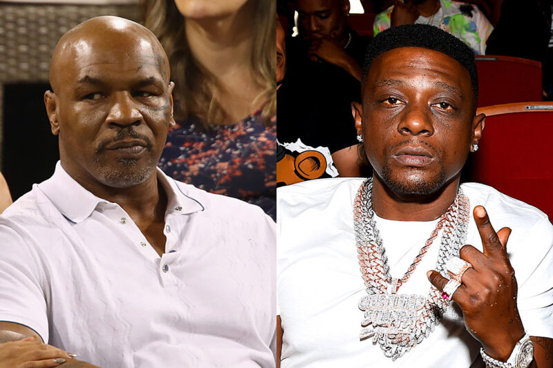 Mike Tyson and Boosie Badazz