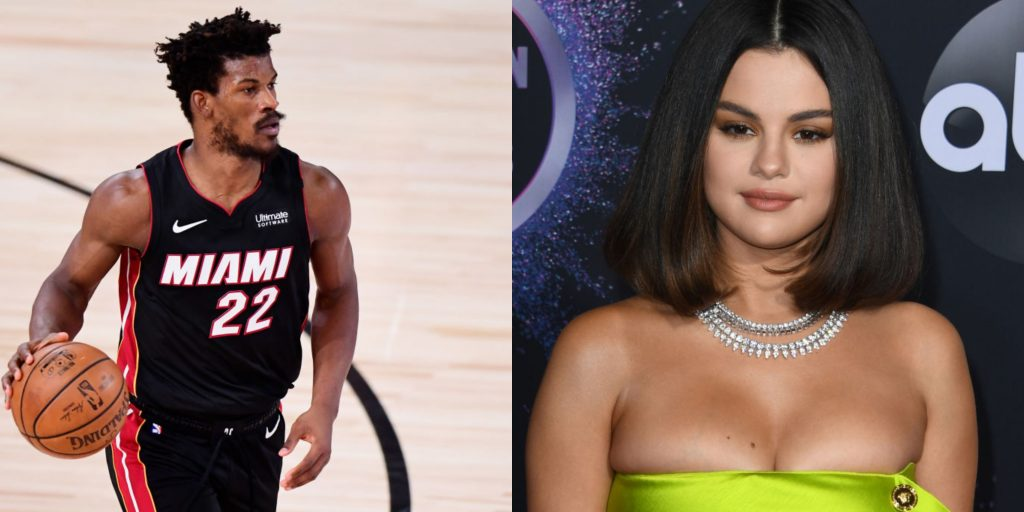 Jimmy Butler and Selena Gomez send Twitter into frenzy after rumors of  being seen together - Heat Nation