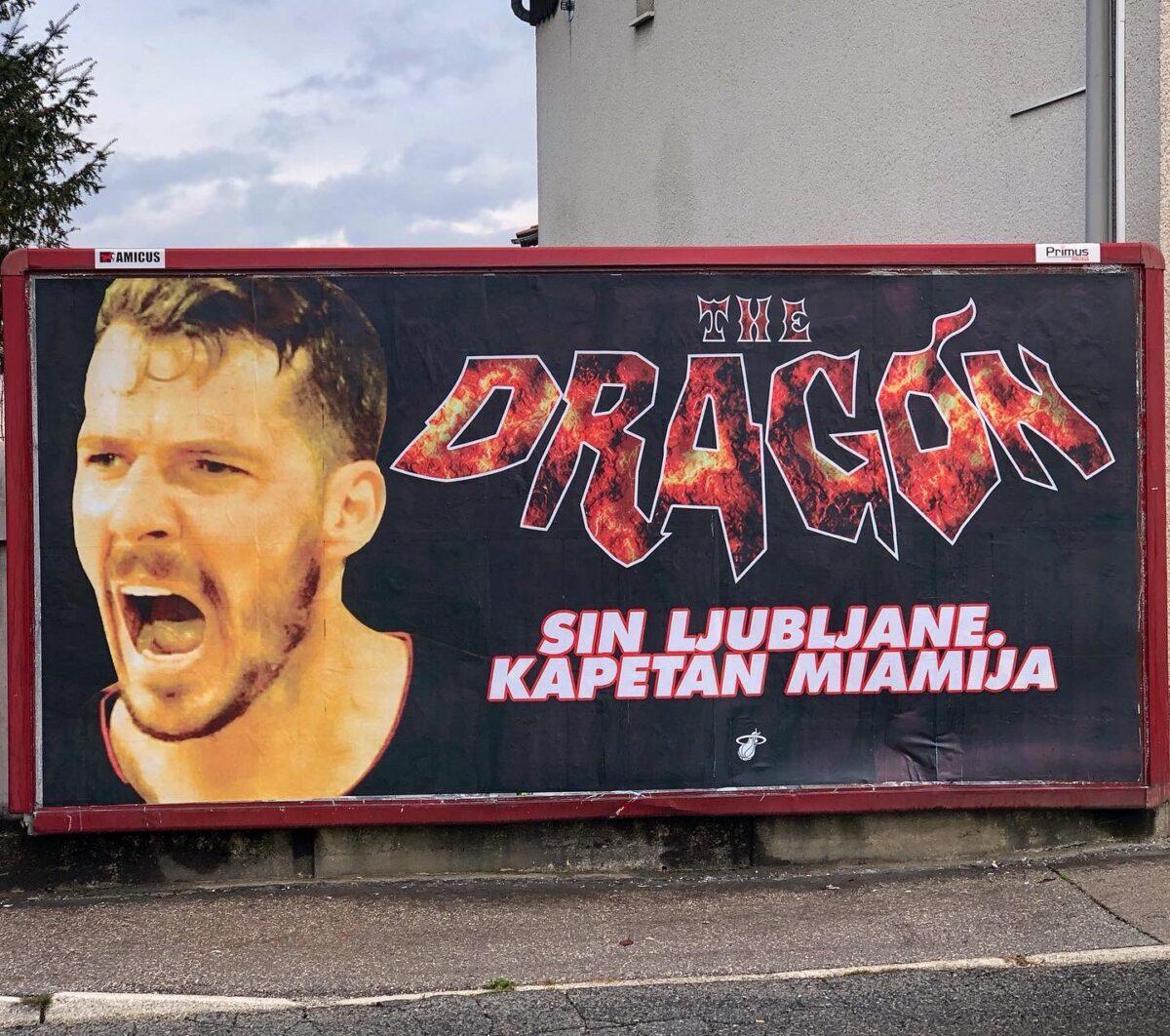 Goran Dragic billboards Miami Heat