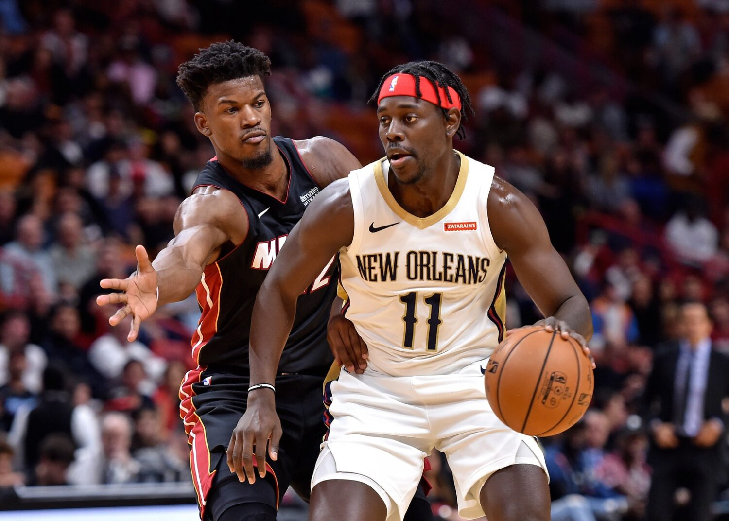 Jrue Holiday and Jimmy Butler