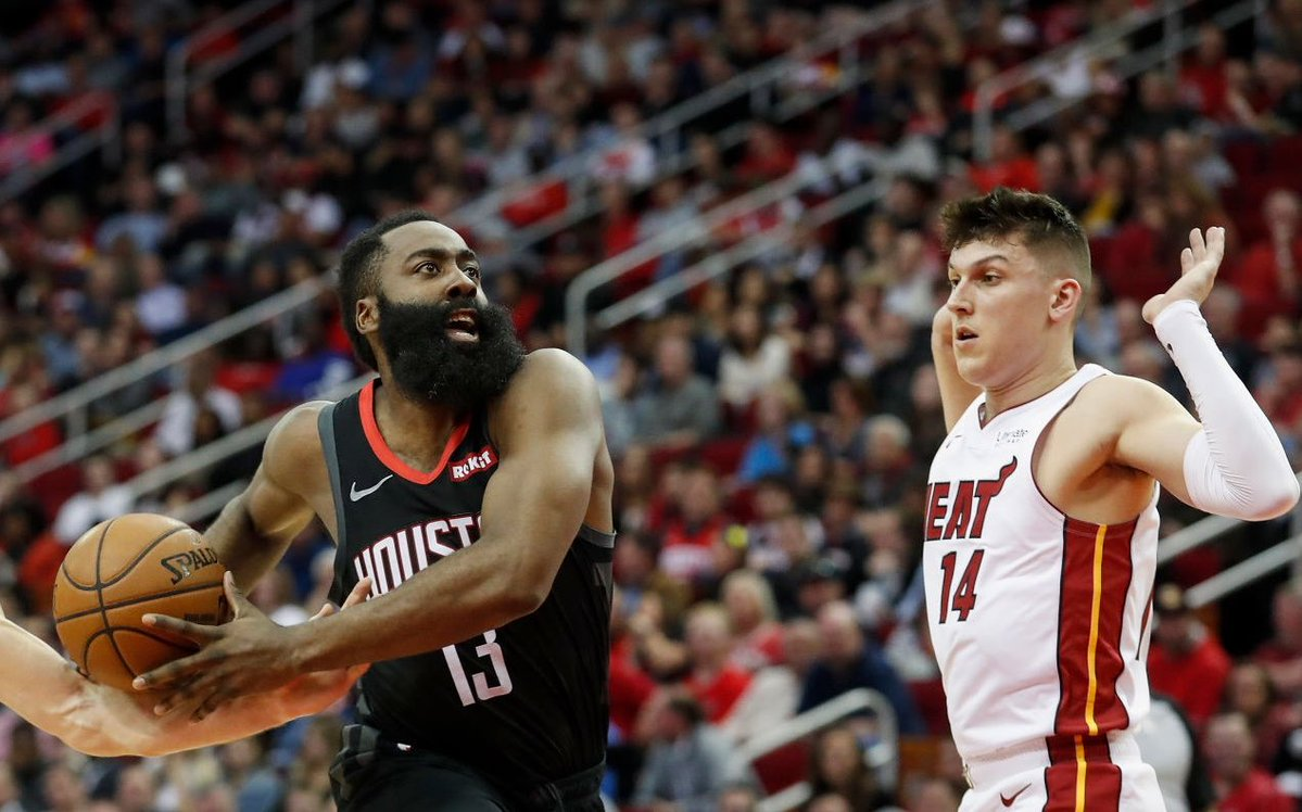 James Harden and Tyler Herro
