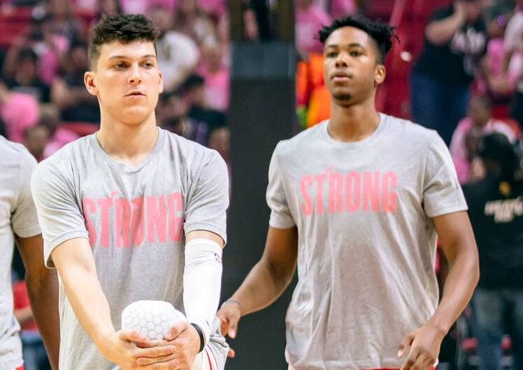 Tyler Herro and KZ Okpala