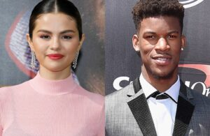 Jimmy Butler and Selena Gomez