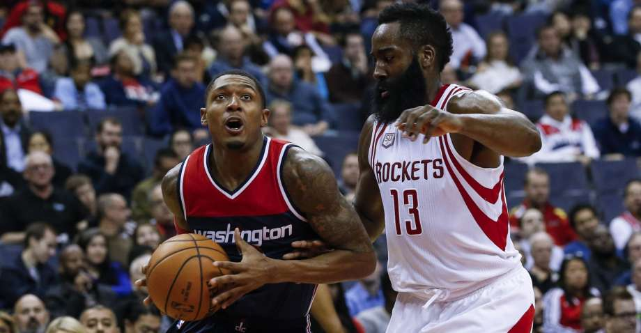 Bradley Beal and James Harden