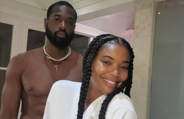 Dwyane Wade and Gabrille Union