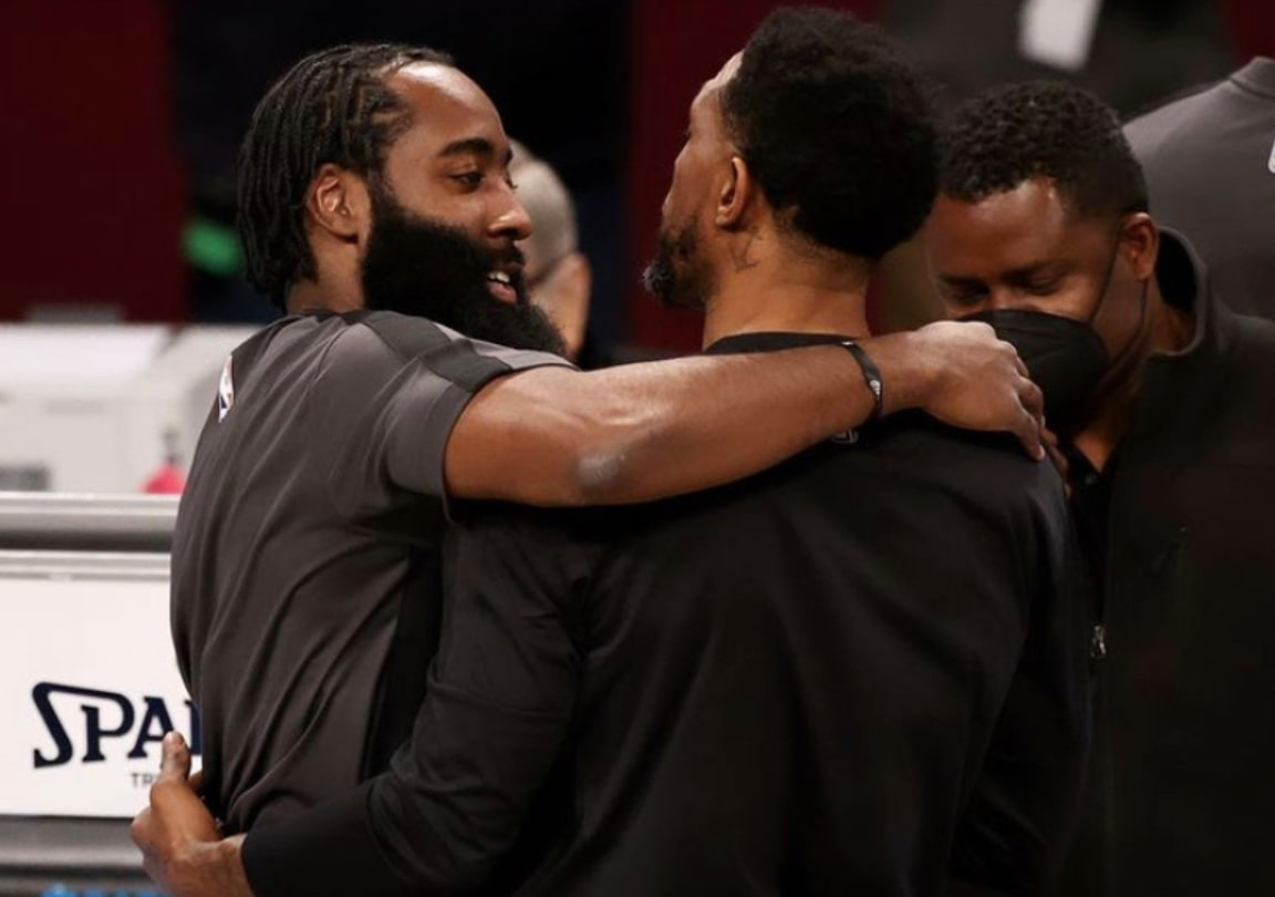 James Harden and Udonis Haslem