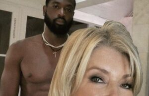 Dwyane Wade and Martha Stewart