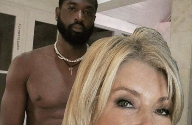 Dwyane Wade Reacts to Hilarious Photo of Him and Martha Stewart