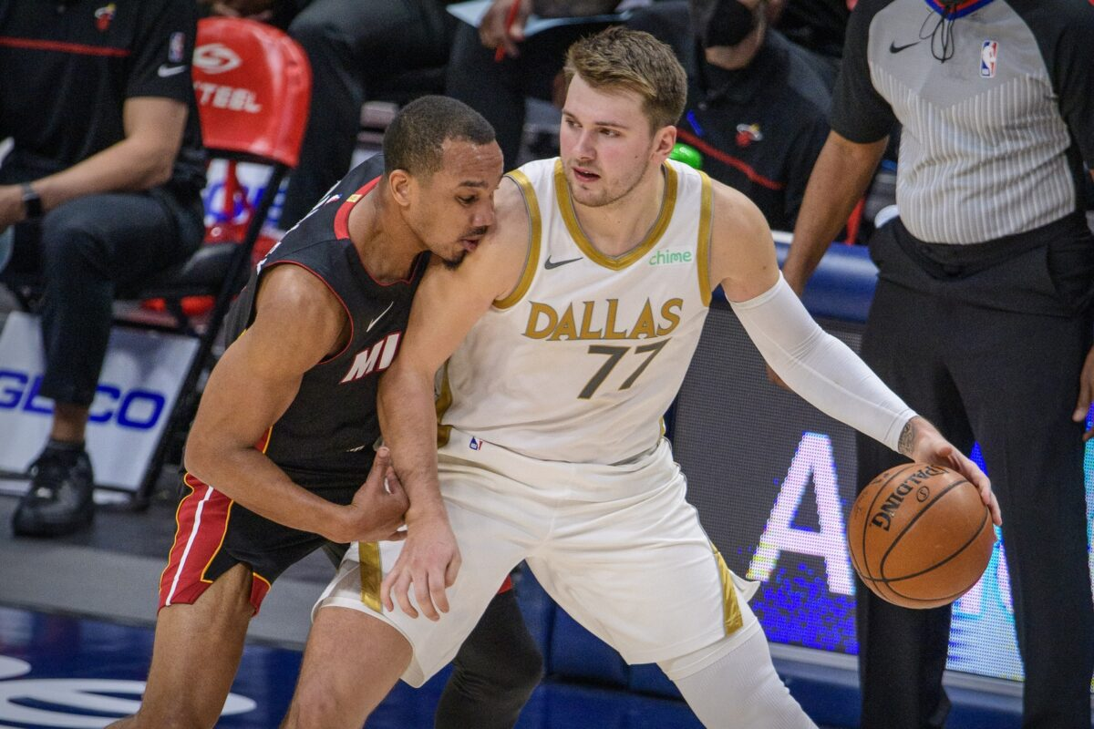 Avery Bradley and Luka Doncic