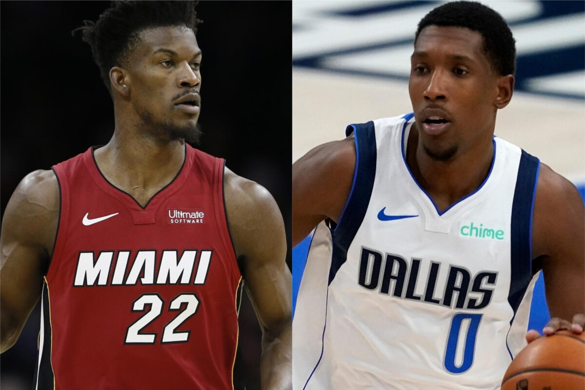 Jimmy Butler and Josh Richardson