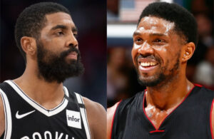 Kyrie Irving and Udonis Haslem