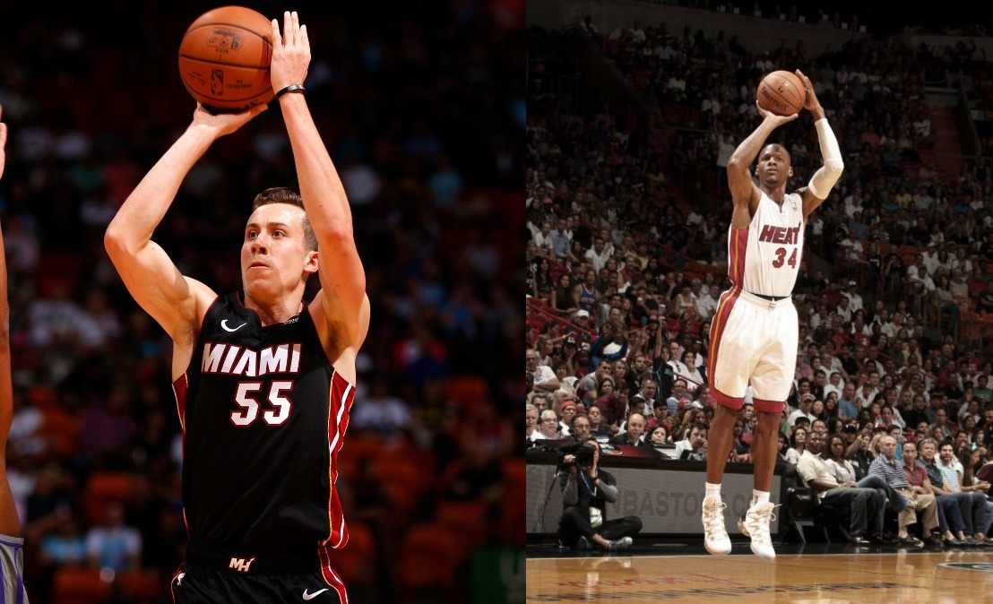 Duncan Robinson and Ray Allen
