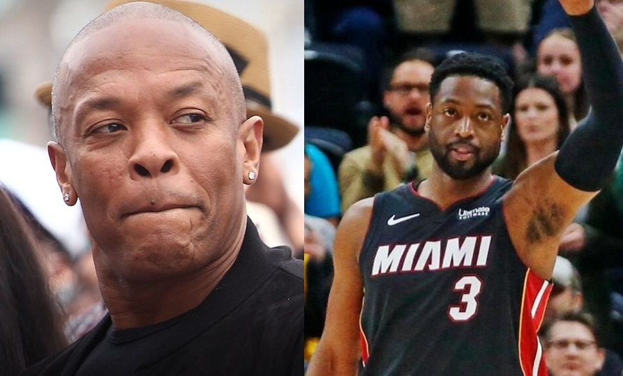 Dr. Dre and Dwyane Wade