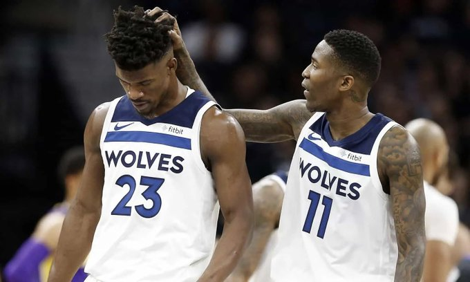 Jimmy Butler and Jamal Crawford