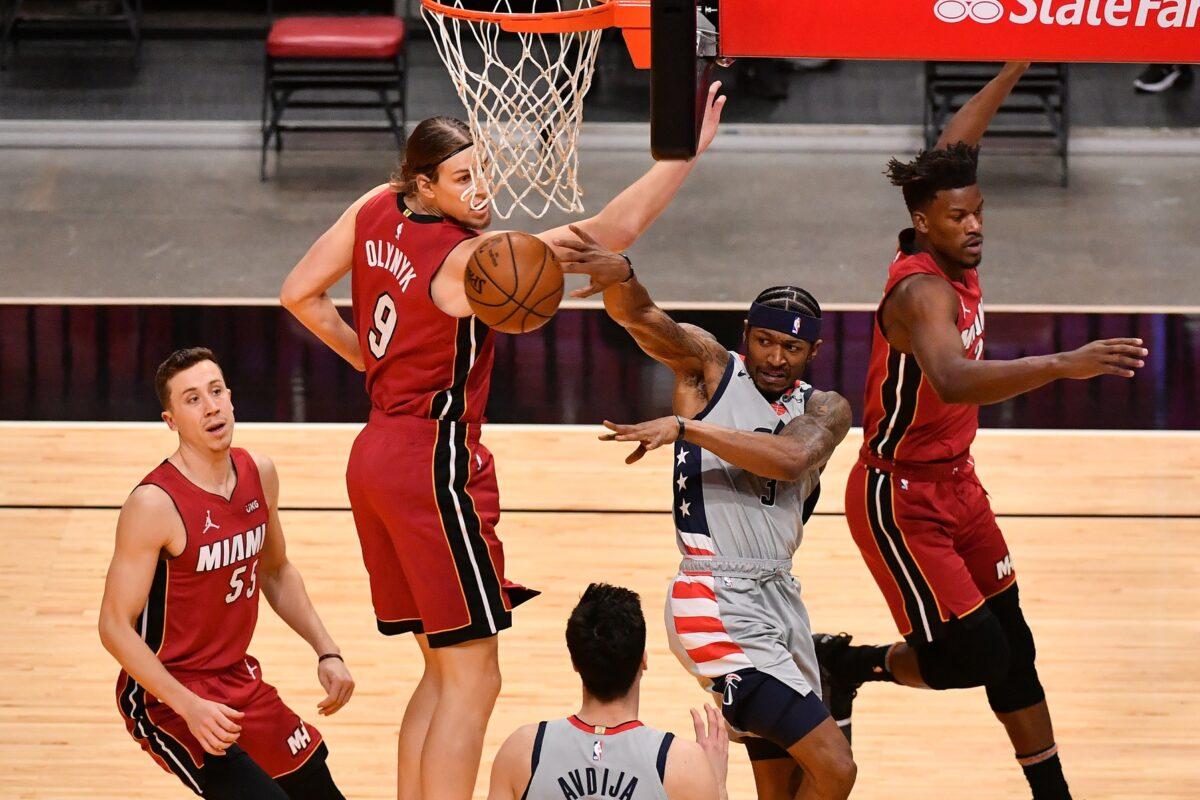 Miami Heat and Washington Wizards