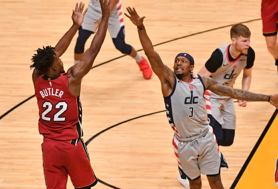 Jimmy Butler and Bradley Beal