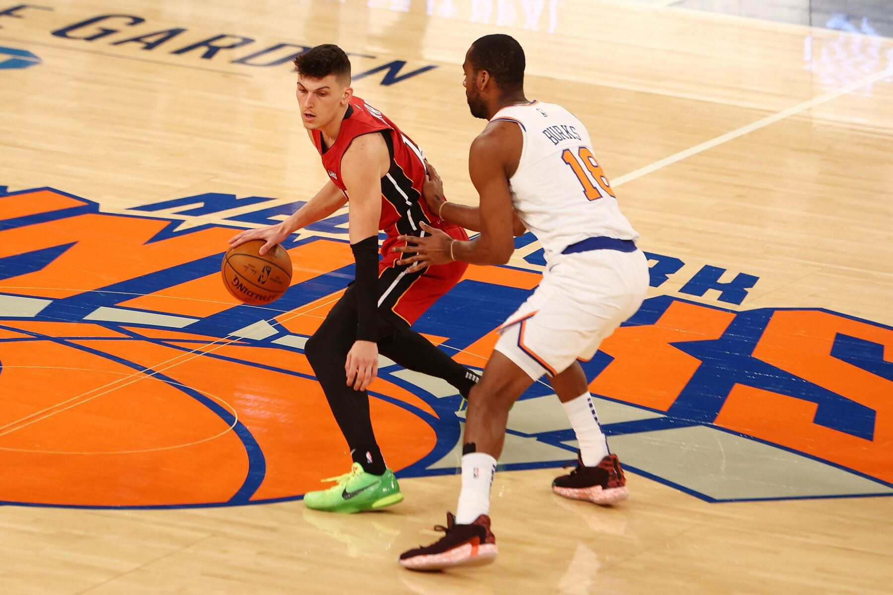 Tyler Herro and Knicks