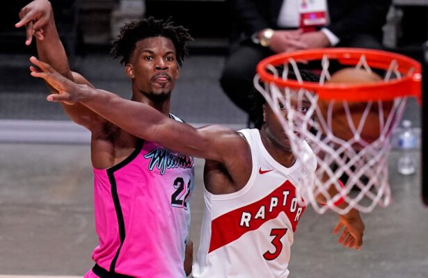 Jimmy Butler and OG Anunoby
