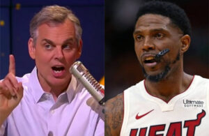 Colin Cowherd and Udonis Haslem