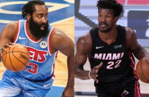 James Harden and Jimmy Butler
