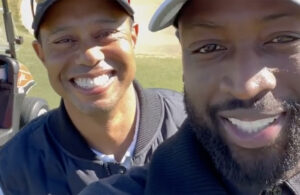 Dwyane Wade and Tiger Woods