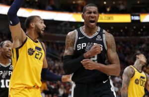 LaMarcus Aldridge and Rudy Gobert