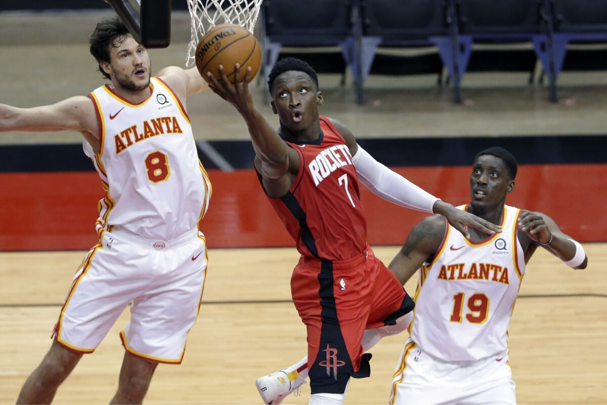 Victor Oladipo, Danilo Gallinari and Tony Snell