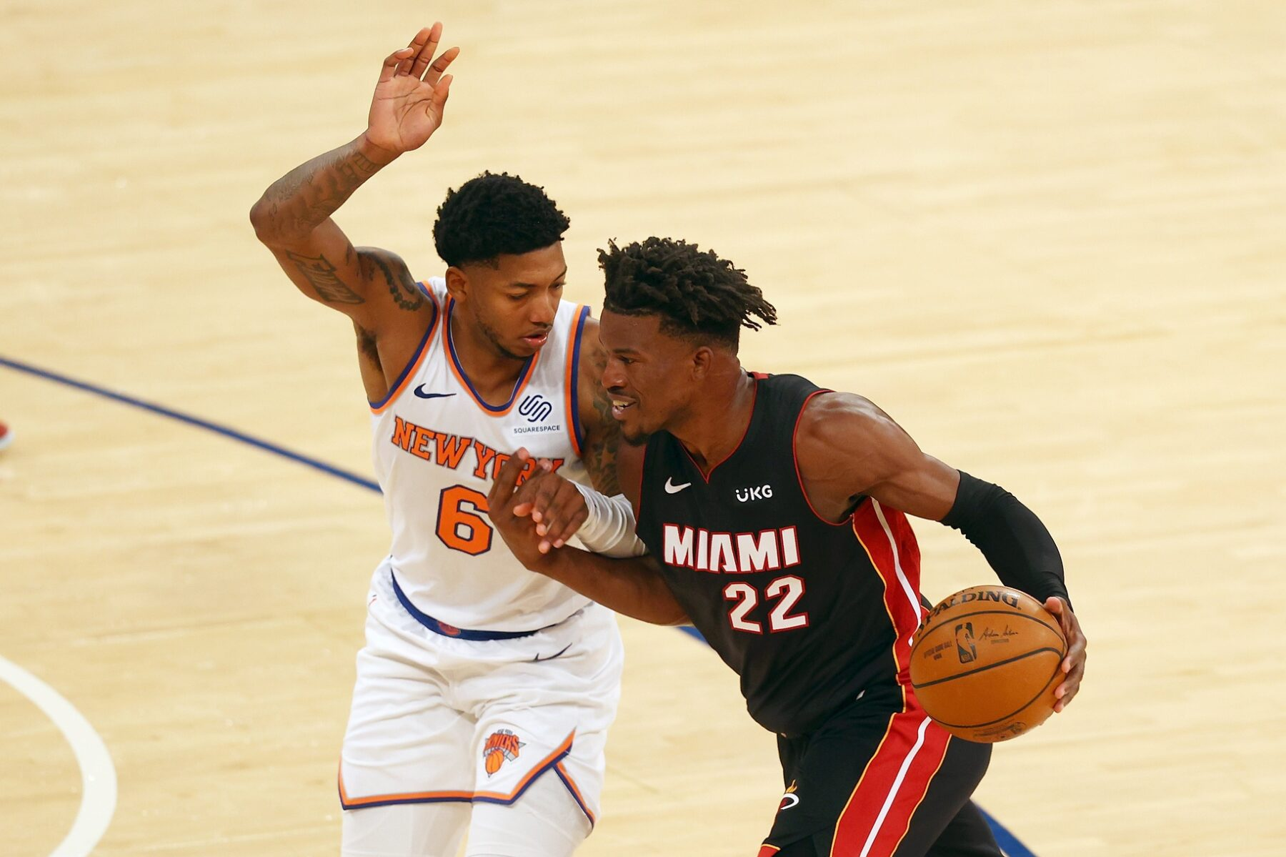 Jimmy Butler Miami Heat Knicks