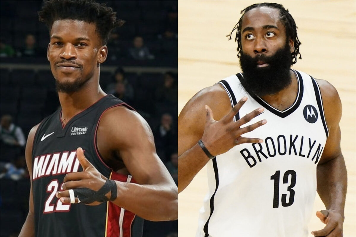 Report: Jimmy Butler approved of James Harden trade when Miami Heat were frontrunners
