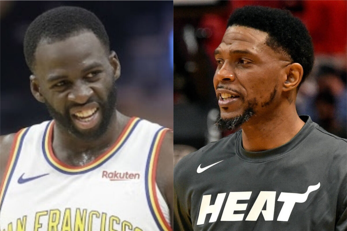 Draymond Green and Udonis Haslem