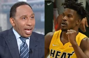 Stephen A. Smith and Jimmy Butler