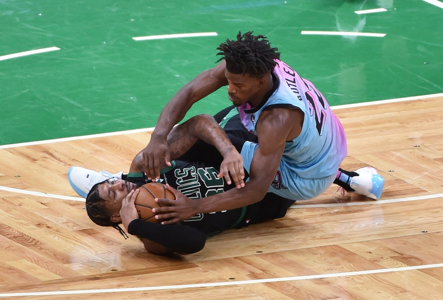 Marcus Smart and Jimmy Butler
