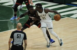 Jrue Holiday and Kendrick Nunn